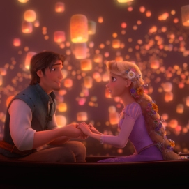 """TANGLED"" (L-R) Flynn, Rapunzel ©Disney Enterprises, Inc. All Rights Reserved."