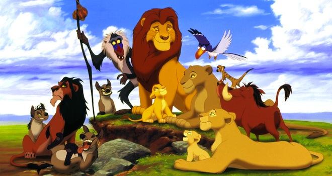 THE LION KING, Ed, Scar, Shenzi, Banzai, Rafiki, Mufasa, Simba, Sarabi, Zazu, Timon, Pumbaa, Nala, 1